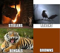 Ravens Steelers Memes - steelers ravens bengals browns misc quickmeme