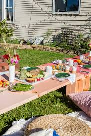 throw the ultimate backyard dinner with these three simple ikea