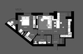 Draw Own Floor Plans by 5 Ideas For A One Bedroom Apartment With Study Includes Floor Plans