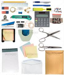 Office Desk Items Desk Items Pack By Yio Graphicriver