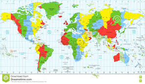 Live Time Zone Map by Time Zone Calculator New Map Calculation Roundtripticket Me