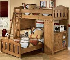 mid high loft bed