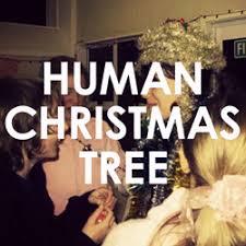 human christmas tree resourced