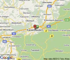 map of germany cities kaiserslautern map