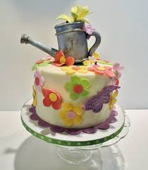 flowers and butterflies birthday cake cakecentral com