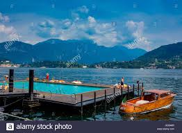 Grand Hotel On Lake Como by Floating Pool At Grand Hotel Tremezzo Lake Como Lombardy Italy