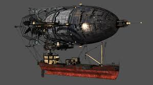 steampunk halloween background steampunk airships dirigibles steampunk gadgets pinterest