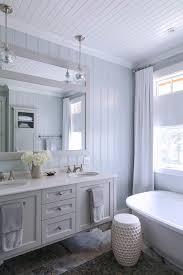 Bead Board Bathroom Beadboard Floor To Ceiling Bathroom Transitional With Floating