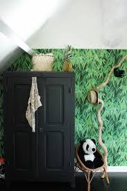 chambre jungle la chambre d ado tendance et moderne en noir et blanc de philippine