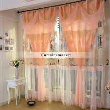 Orange Panel Curtains Lace Window Curtains U2013 Teawing Co