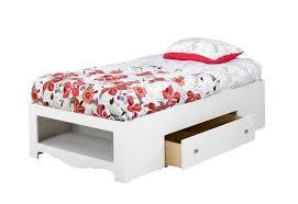 White Storage Bed Nexera Twin Size Bed With Storage 313903
