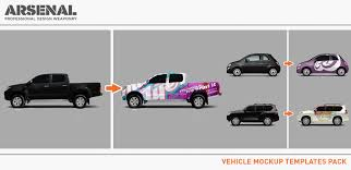 introducing the vehicle mockup templates pack