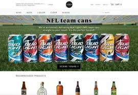 order nfl bud light cans fans ask bud light delivers partners with minibar to offer full