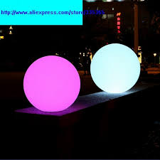 floating led pool lights plastic round dia 200mm rgb rechargeable battery floating on water
