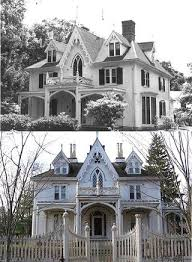 Gothic Revival Homes by 622 Best Victorian Gothic House Designs Images On Pinterest
