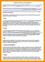 9 lease agreement template free abstract sample