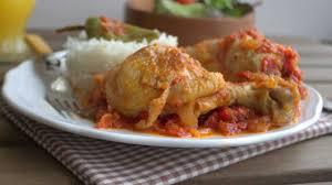 amoure de cuisine la recette du poulet basquaise rapide et facile par soulef