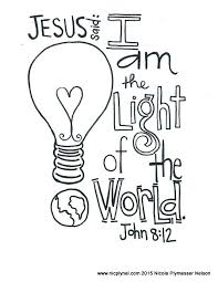 Best Salt And Light Coloring Page Pictures Style And Ideas Light Coloring Page