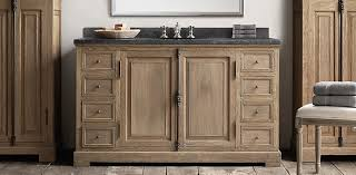 Restoration Hardware Bathroom Storage by French Casement Collection Weathered Oak Drifted Rh