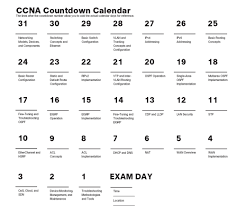 31 days before your ccna routing u0026 switching exam