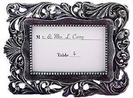 photo frame party favors baroque design place card photo frame 1 party favors