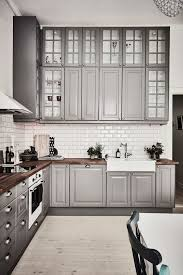 spectacular light grey cabinets in kitchen kitchen designxy com