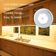 battery operated under cabinet light 3pcs battery operated ir motion sensor led night light wireless