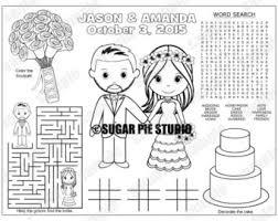 personalized printable bride groom wedding party favor