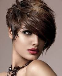 very short hairstyles for thick hair women medium haircut