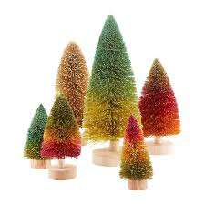 sisal trees in warm colors the container store
