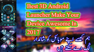 best 3d android launcher make your device awsesome in 2017 youtube