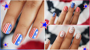 hellomaphie 4th of july nails 3 easy designs