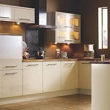 kitchen compare com bq it cream gloss slab kitchen ideas