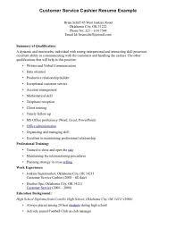 cover letter cashier job description for resume head cashier job