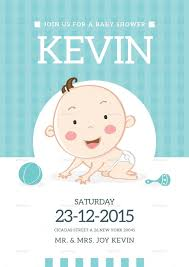baby shower invitation card by lilynthesweetpea graphicriver