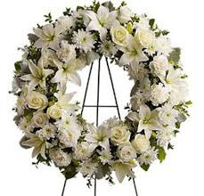 flower for funeral funeral flowers funeral arrangements in white