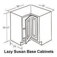 lazy susan cabinet sizes base cabinet dimensions polyflow