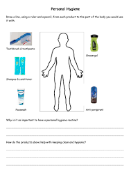 differentiated hygiene sheets by fairykitty teaching resources tes