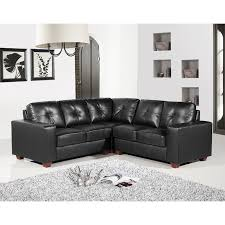 Black Leather Corner Sofa 5 Seater Black Leather Corner Sofa