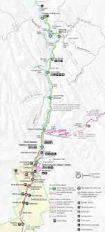 map of zion national park zion maps npmaps com just free maps period