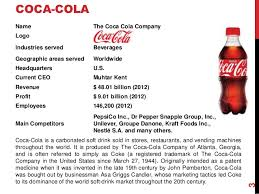 international business strategy coca cola