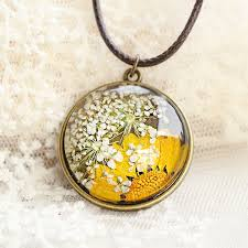flower necklace images Pressed flower necklace apollobox jpg