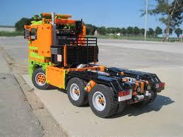 lego technic truck stone trailer truck