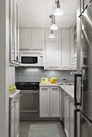 minimalist small kitchen with wooden floor quecasita