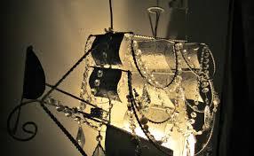pirate ship chandelier vintage lamp makeover u2013 vintage key west