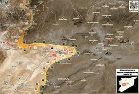 Palmyra Syria Map by Petolucem New Map Update Military Situation In Eastern Homs