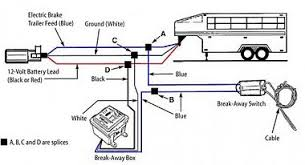 wiring diagram trailer brake controller circuit and schematics