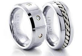 mens wedding bands cobalt cobalt rings cobalt chrome wedding bands bright white