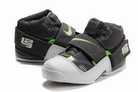 eastbay black friday cheap basketball shoes nike zoom lebron iv white black green