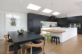 black kitchen ideas black and white kitchens ideas photos inspirations